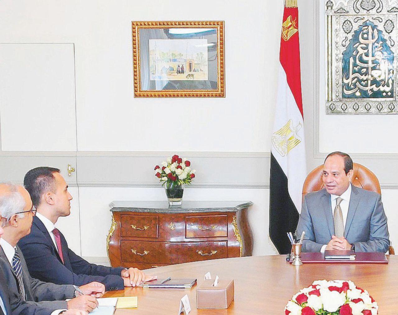 La frase di Al Sisi su Regeni che imbarazza Di Maio