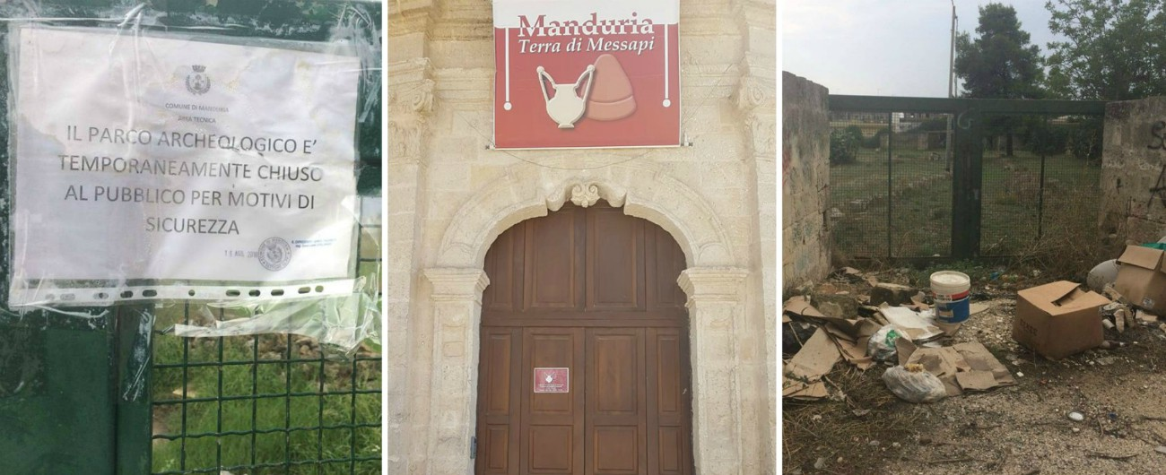 Manduria, museo e parco archeologico (quasi) sempre chiusi: tra regolamenti inattuati, fondi persi e personale carente