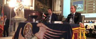 """Cucchi, Salvini a Venezia: """"Se lo vorranno incontrerò la famiglia ma difenderò sempre il lavoro delle forze dell'ordine"""""""