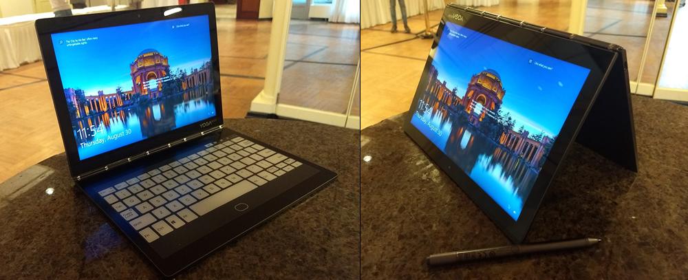 Lenovo Yoga Book c930, the convertible laptop comes with an