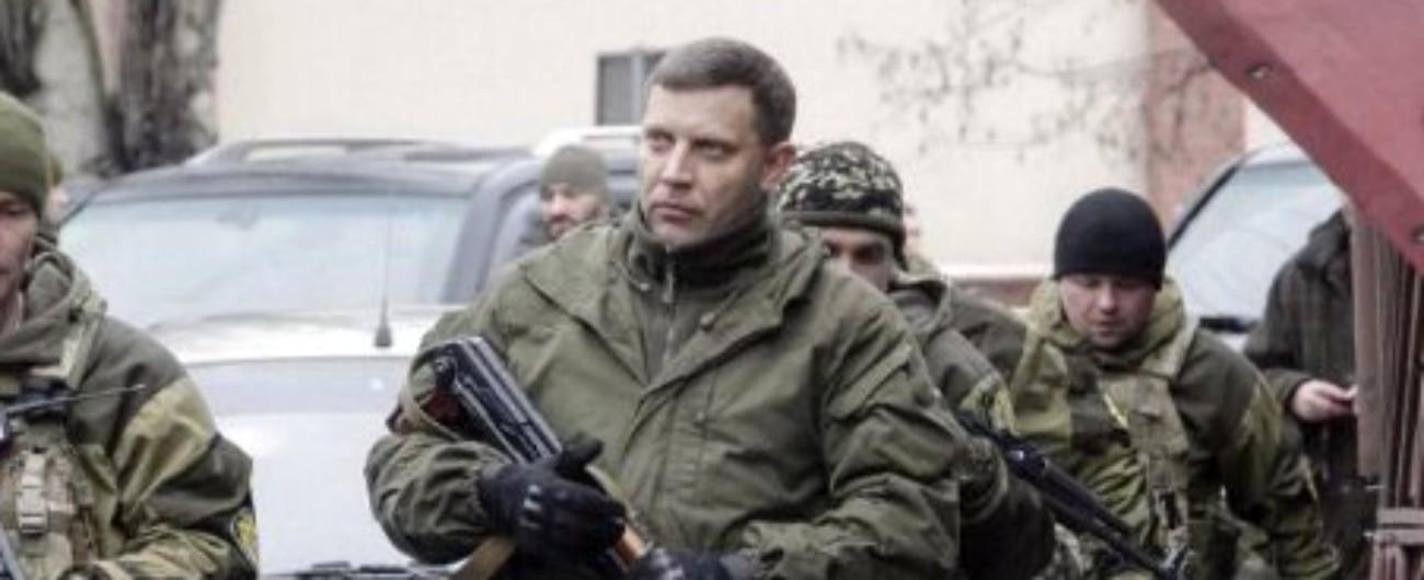 """Alexander Zakharchenko, ucciso il leader dei separatisti di Donetsk: """"Attentato"""" Mosca accusa: """"Dietro c'è regime di Kiev"""""""