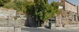 Roma, crolla porzione di muro del Monte Tarpeo, nel Foro. Illesi due vigili urbani
