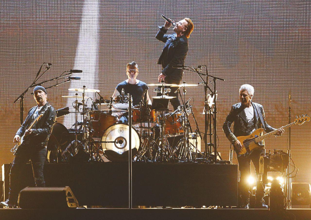 Madonna e U2. Le star tra palco e dischi in uscita. Paul Simon Corona Park (New York)