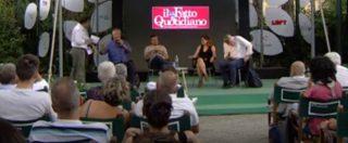 """Versiliana 2018, Mallegni (FI) provoca e litiga col pubblico: """"Reddito di cittadinanza per tutti. Evviva il comunismo"""""""