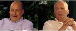 """Versiliana 2018, Gomez intervista Zingaretti: """"I renziani mi attaccano perché mi temono"""". Rivedi la diretta"""