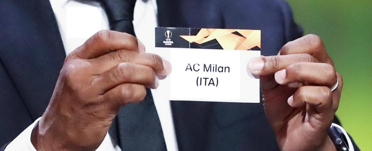 Sorteggi Europa League 2018-2019: Milan pesca l'Olympiacos, Lazio il Marsiglia