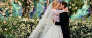 Matrimonio Chiara Ferragni-Fedez: il rapper e l'influencer sono marito e moglie. L'abito della sposa in stile Grace Kelly e il primo bacio da sposi- FOTO E VIDEO