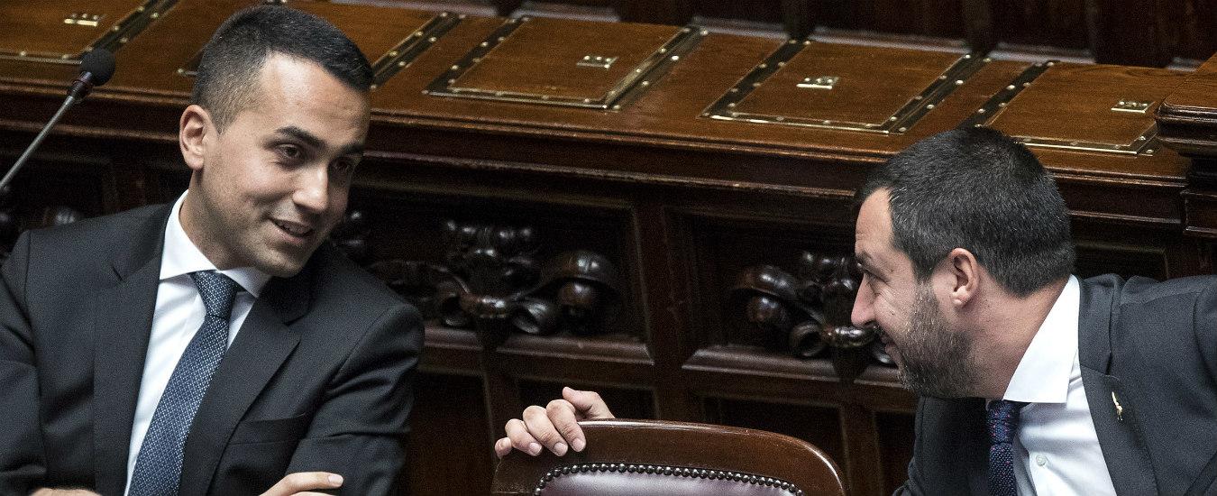 Di Maio e Salvini, 'Nessuna tensione, insieme cinque anni'. Poi paletti incrociati su flat-tax e reddito di cittadinanza