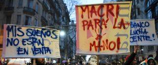 """Argentina in crisi, Macri: """"Tassa sulle esportazioni e taglio di alcuni ministeri per ridurre il deficit. Servono sacrifici"""""""