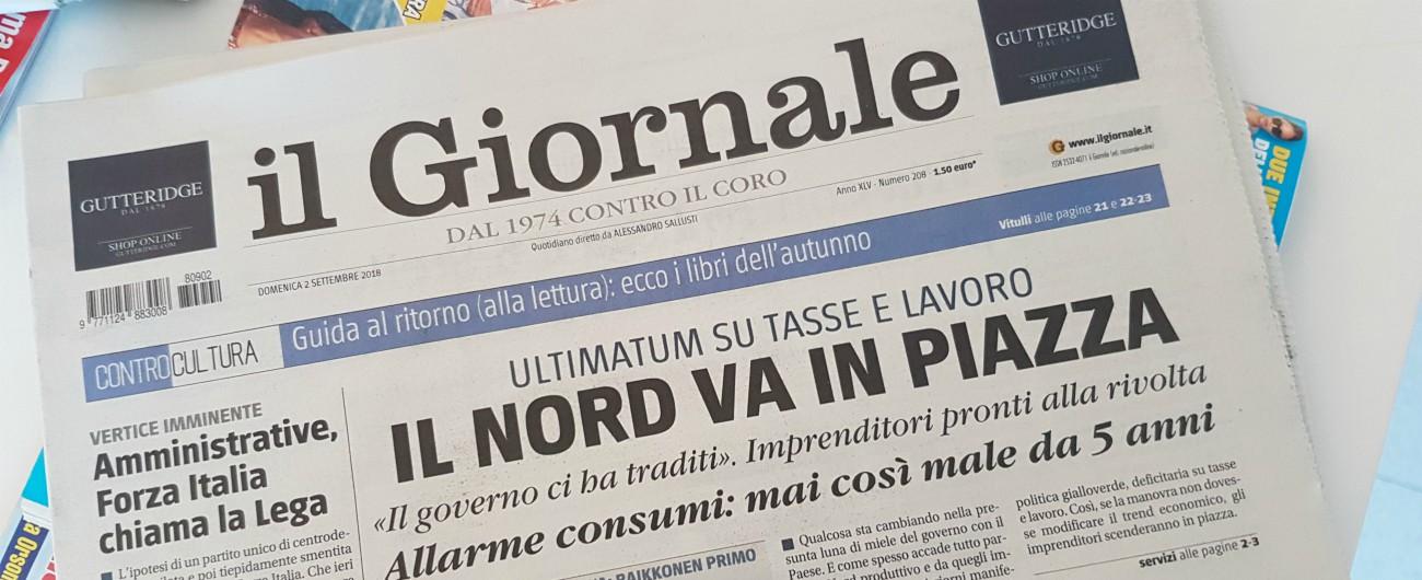Il Giornale, domani il quotidiano non sarà in edicola: giornalisti in sciopero contro i tagli decisi dall'editore