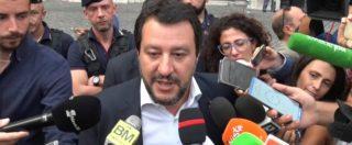 """Conti pubblici, Salvini: """"Rispetteremo impegni su flat tax, quota 100 e accise. Coperture? Siamo dotati di ingegno"""""""
