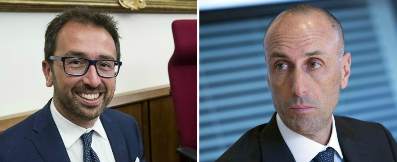 """Rifiuti Livorno, nell'inchiesta mail Bonafede-Lanzalone per una riunione con Nogarin. Il Pd: """"Ci ha mentito al Senato"""""""