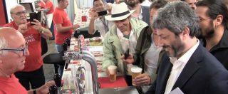 """Ravenna, Fico applaudito alla festa del Pd: """"Lui è di sinistra mentre noi abbiamo Casini"""""""