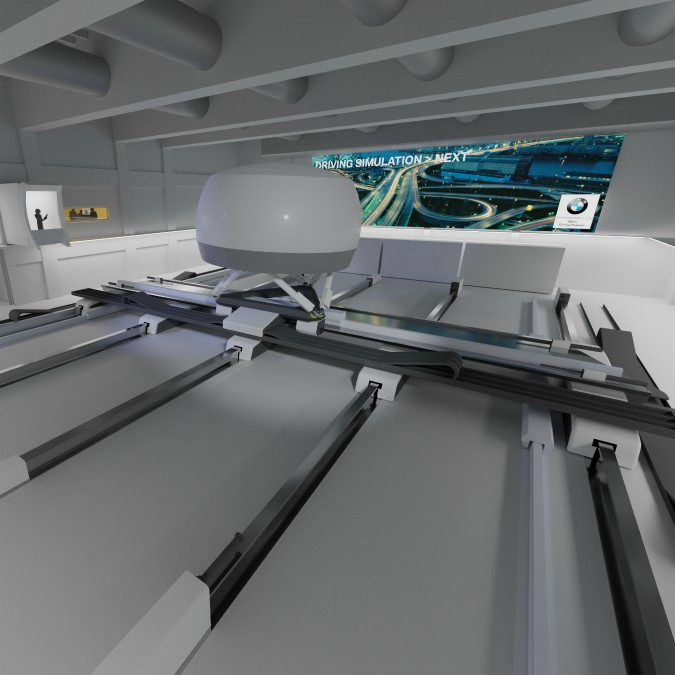 Bmw, in costruzione un nuovo simulatore per testare la guida autonoma