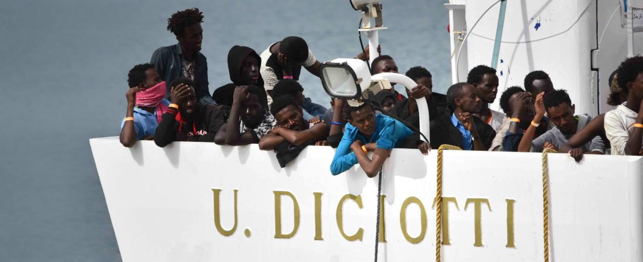 Diciotti, 41 migranti presentano ricorso e chiedono risarcimento al governo: sia al premier Conte che al ministro Salvini