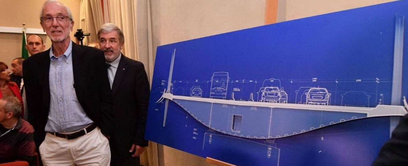 """Ponte Morandi, """"Fincantieri e Italferr non hanno i requisiti necessari per la ricostruzione"""""""