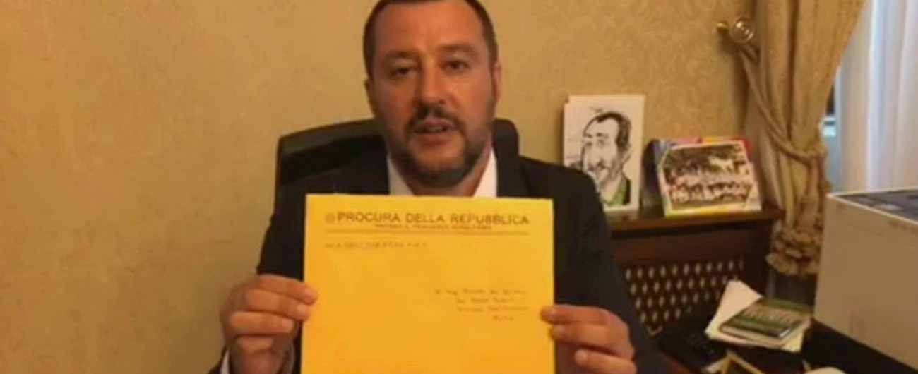 """Salvini: """"Inchieste? Vogliono fermarmi. Io sono eletto, i pm no"""". Di Maio e Bonafede: """"No a nuova Seconda Repubblica"""""""