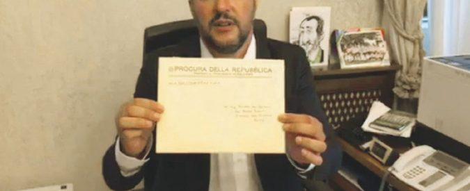 """Diciotti, avviso per sequestro Salvini: """"Io eletto, i giudici no"""""""