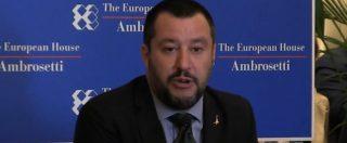 """Manovra, Salvini: """"Primi passi verso reddito di cittadinanza"""". Sull'Europa: """"Lavoriamo per essere primo gruppo"""""""