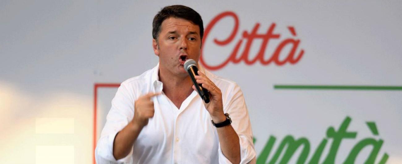 """Renzi: """"Pensano di essersi liberati di me, ma hanno sbagliato. Andrò in scuole e tv"""""""