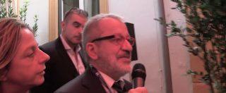 """Fondi Lega, a Cernobbio Maroni fa scena muta. Lo slalom tra i cronisti: """"Belsito? Non rispondo"""""""