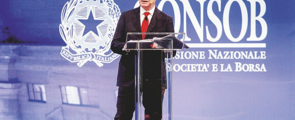 Consob, il presidente Nava si impone con il voto doppio: stop alla sanzione a Tim