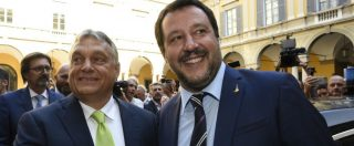 """Manovra: Italia bocciata, ma il soccorso dei sovranisti amici di Salvini non c'è. Orban e gli altri: """"Rispettare le regole Ue"""""""