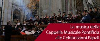 """Coro della Cappella Sistina, la conferma di Papa Francesco: """"Indagine sui conti in corso da alcuni mesi"""""""