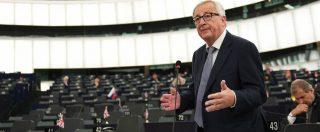 Ue, Juncker: 'Rafforzare guardia costiera e polizia frontiera, ma no a nazionalismo malsano. Non diventiamo fortezza'