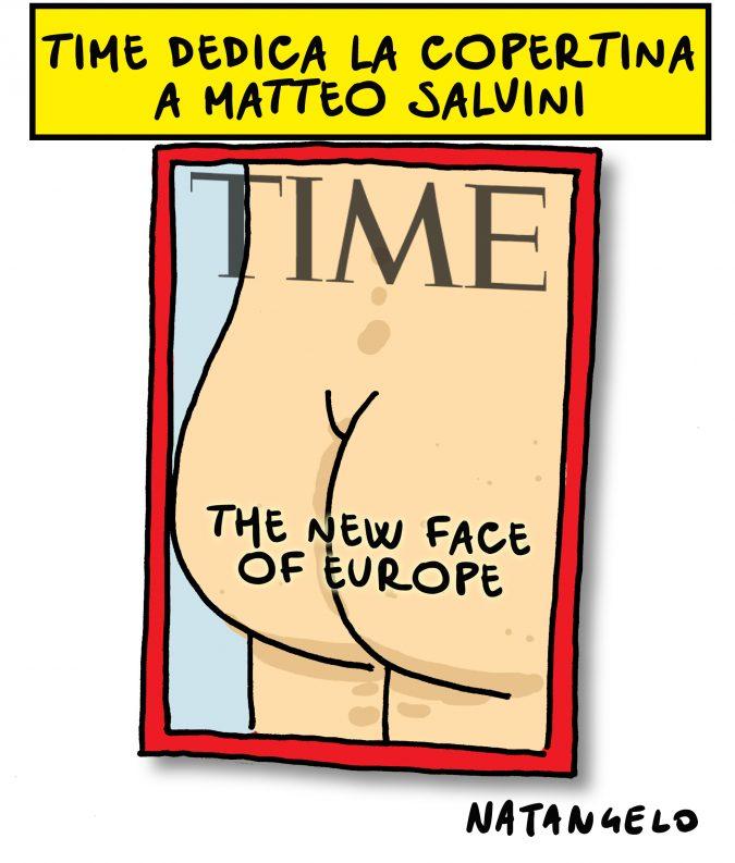 Salvini in copertina