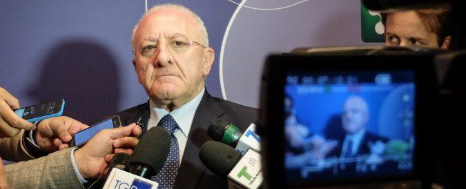 Piano lavoro Campania, De Luca vuole restituire una chance ai giovani