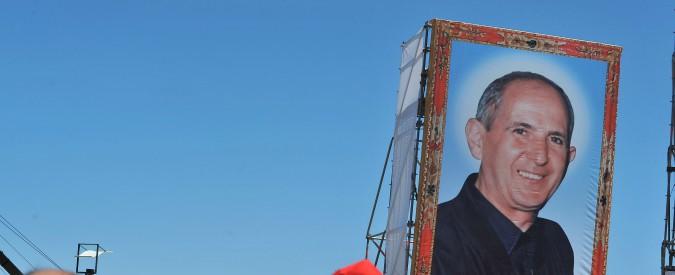 """Risultati immagini per Don Pino Puglisi, Papa Francesco a Palermo per i 25 anni dall'assassinio: """"Ucciso perché parlava contro la mafia"""""""