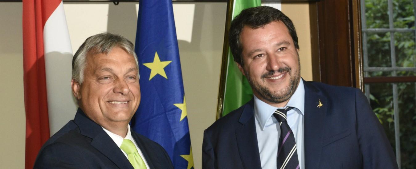 Sanzioni all'Ungheria, uno schiaffo in faccia a Salvini