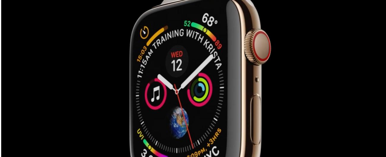 """Apple Watch Serie 4 può eseguire un """"elettrocardiogramma"""": utile ma incompleto per scopi medici"""