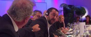"""Vienna, battibecco Salvini-Asselborn al vertice dei ministri: """"Non abbiamo bisogno di migranti"""". """"Merde alors!"""""""