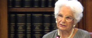 """Liliana Segre, la senatrice a vita: """"Salvini? È il volto nuovo dell'Europa, ma di un'Europa dell'indifferenza"""""""