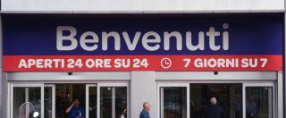 """Lavoro domenicale, """"nella grande distribuzione è un obbligo. E la busta paga aumenta solo di 70 euro al mese"""""""