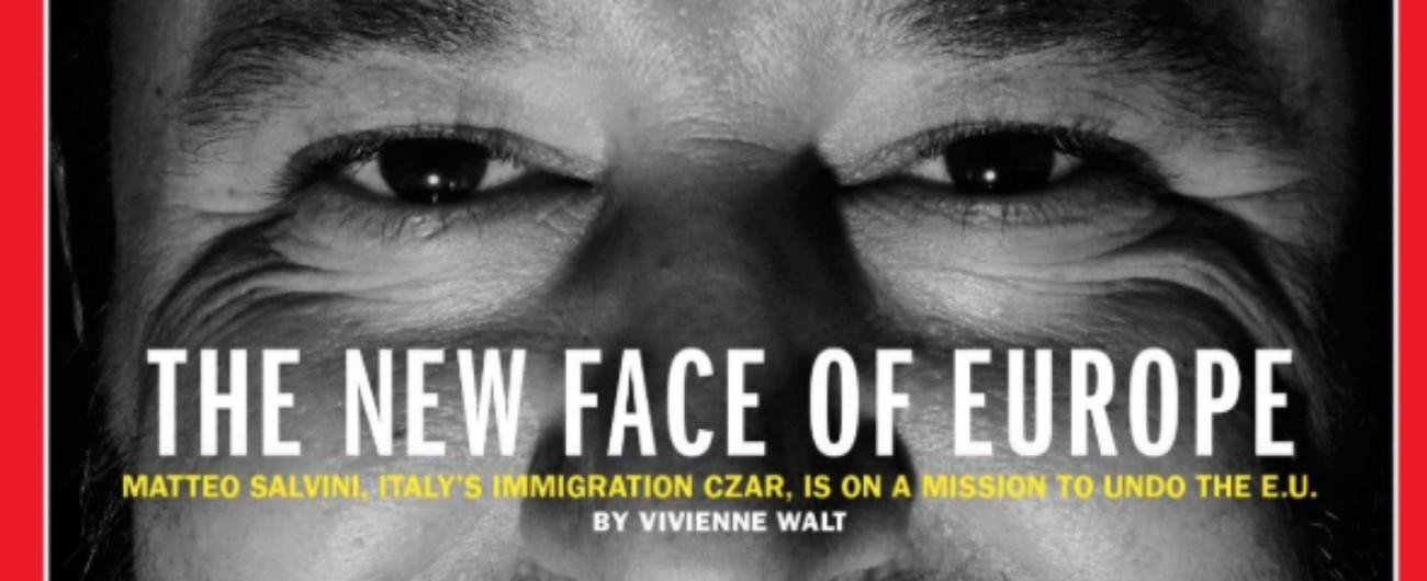Copertina del Time su Salvini: propaganda americana, talento fotografico italiano