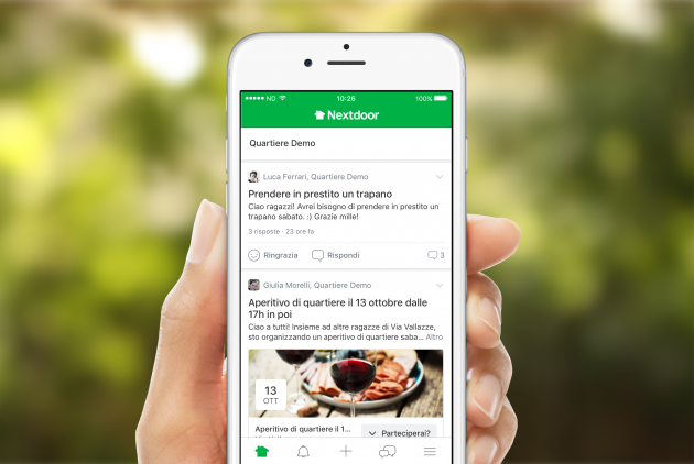 Nextdoor, l'app sociale per fare amicizia e collaborare con