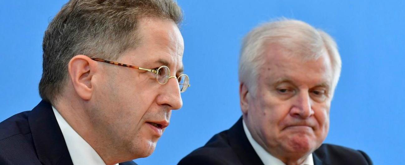 Germania, il governo rimuove il capo dell'intelligence. Si era scontrato con Merkel sulle manifestazioni neonazi