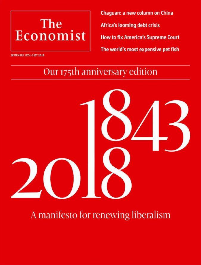 The Economist, il manifesto per la riscossa dei liberal
