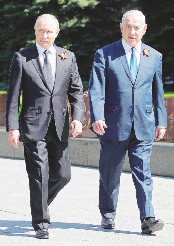 Bibi e Putin, guerra e pace in Siria