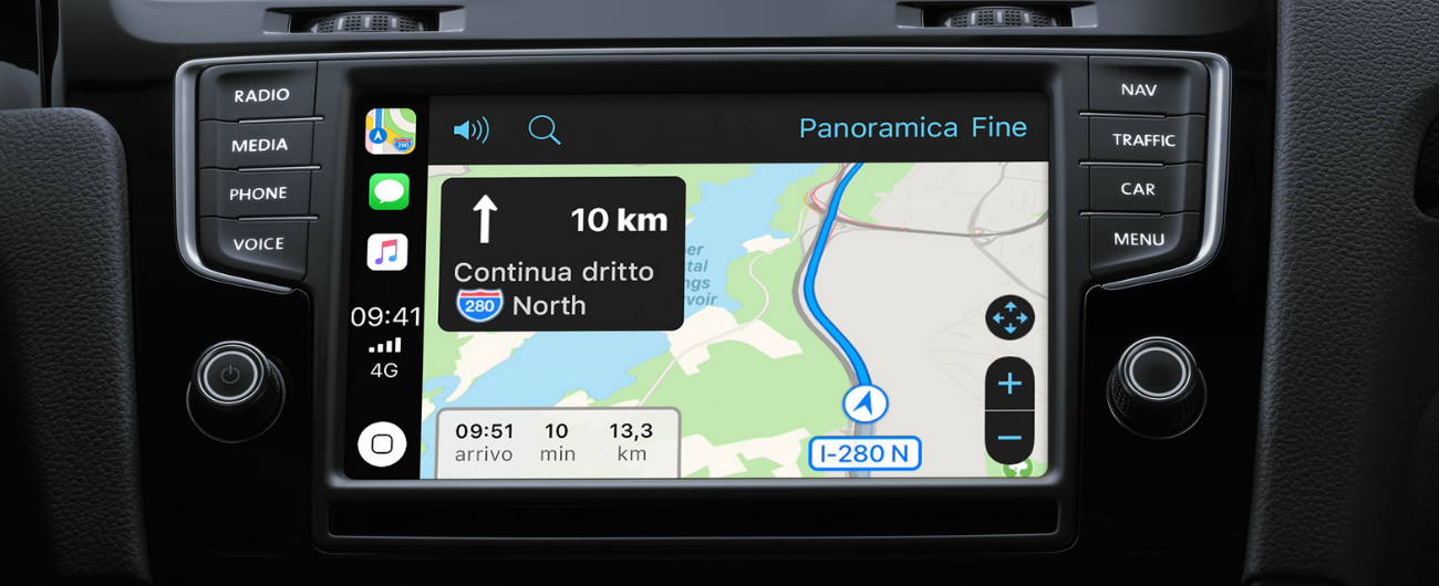 apple carplay google maps e waze possono finalmente essere utilizzati per la navigazione. Black Bedroom Furniture Sets. Home Design Ideas