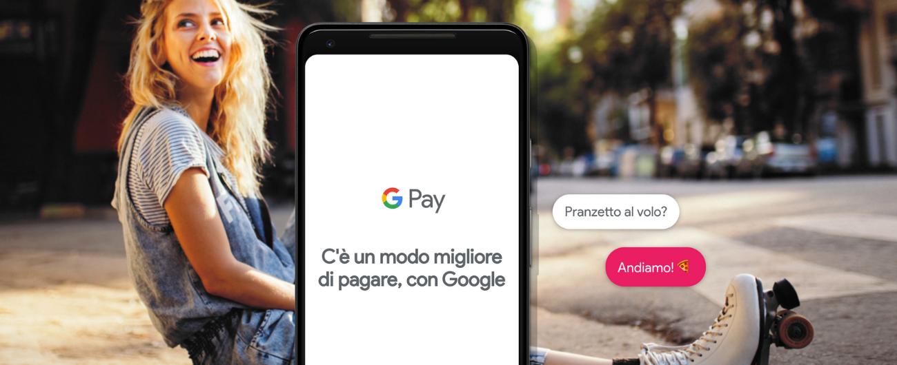 Google Pay sbarca in Italia: paghi direttamente con lo smartphone, Esselunga e Bennet tra i primi partner