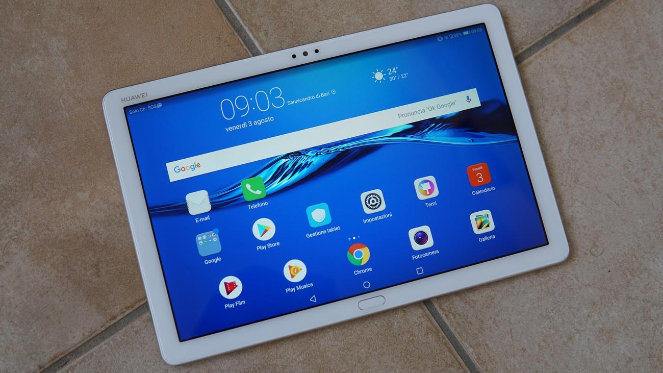 1589cf87367 Huawei Mediapad M5 Lite, il tablet economico di alta qualità - Il ...