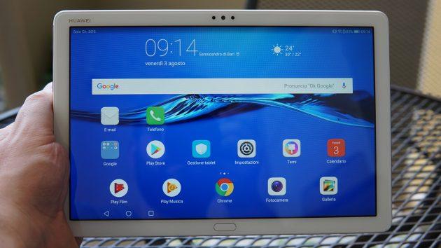 Huawei Mediapad M5 Lite, il tablet economico di alta qualità