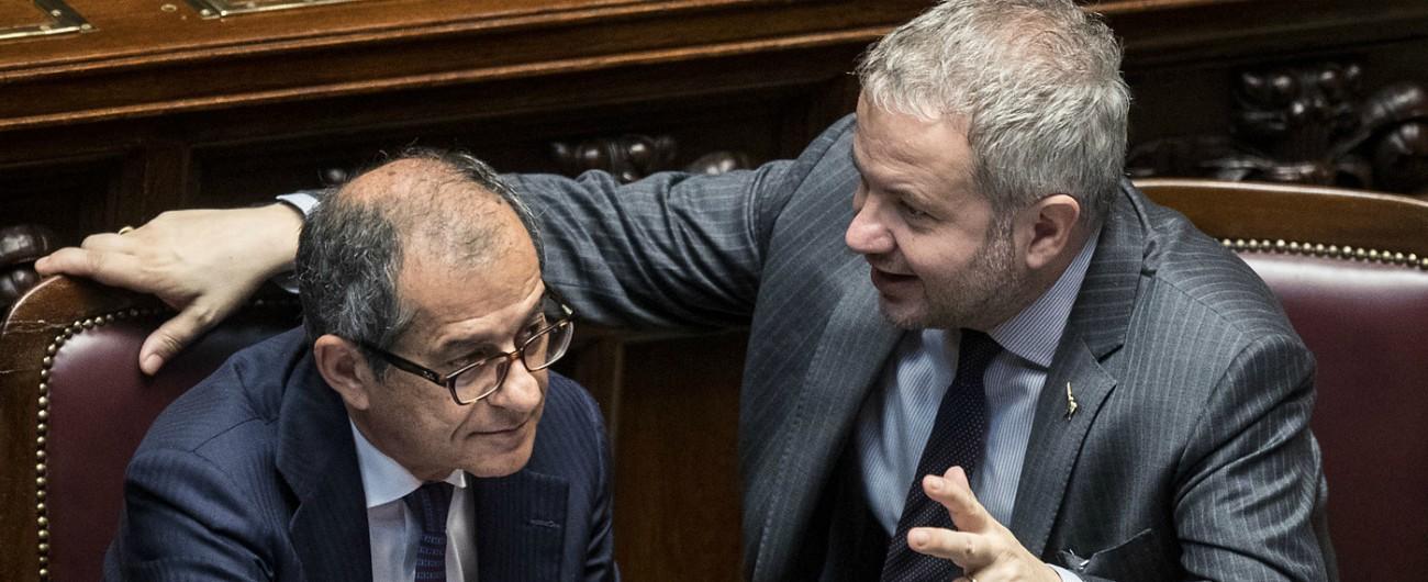 """Manovra, 54 emendamenti M5s-Lega alla Camera. Il leghista Borghi: """"Di reddito e riforma pensioni se ne parla al Senato"""""""