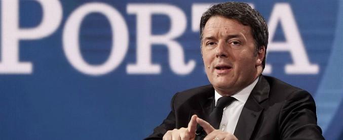 """Renzi: """"Fronte da Macron a Tsipras unito alle europee"""". E sulla Rai: """"Foa è di parte"""""""