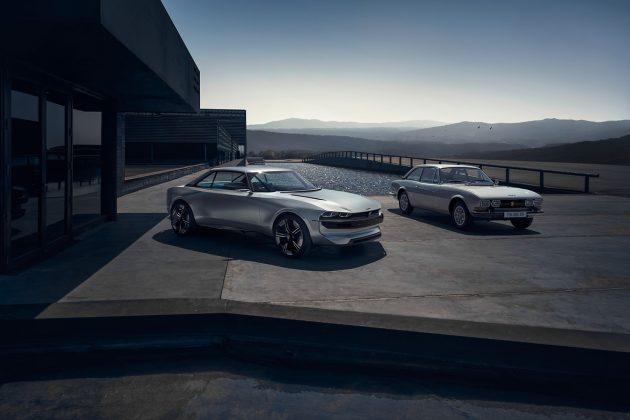 Peugeot e Legend, il prototipo old style a emissioni zero –
