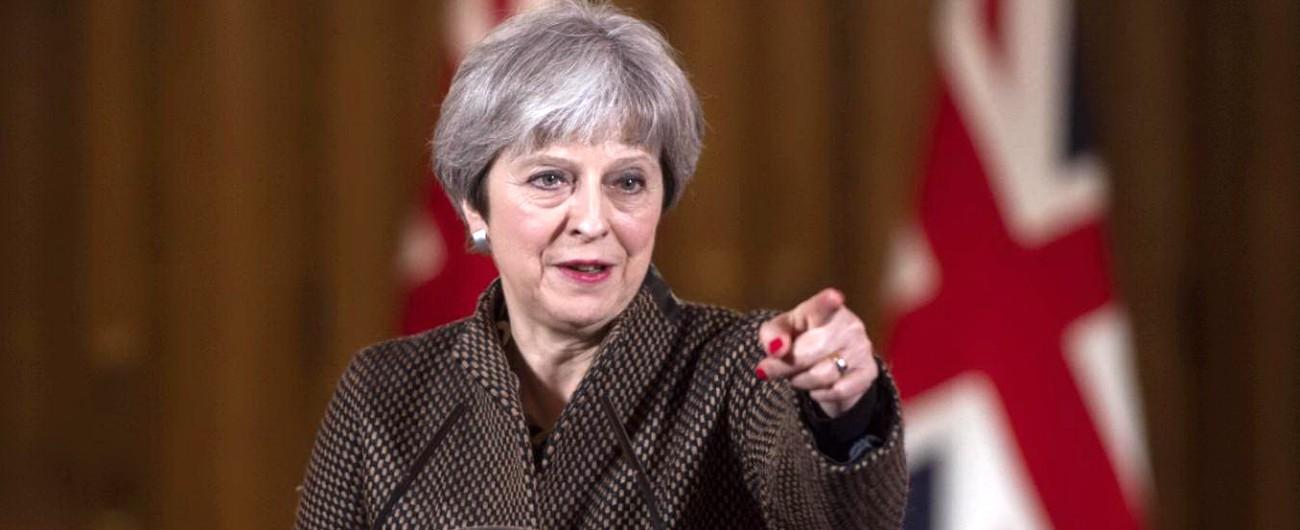 """Brexit, May: """"Nessun accordo è meglio di un cattivo accordo"""". Corbyn: """"E' incapace di portare a casa una buona intesa"""""""